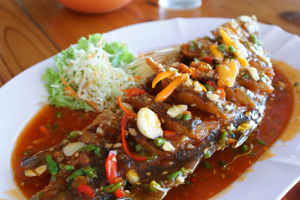 poisson cuisine thai