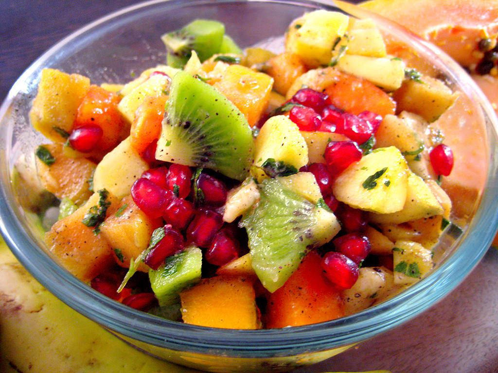 salade de fruits dessert diététique