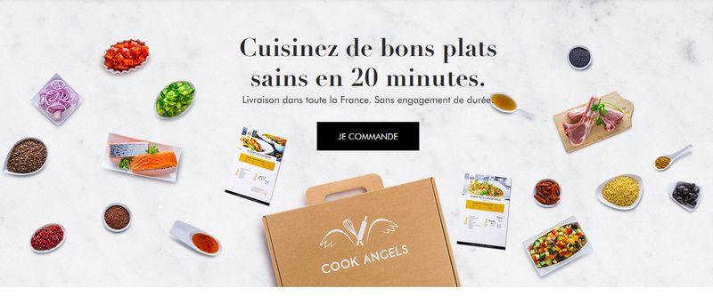 repas en kit avec Cook Angels